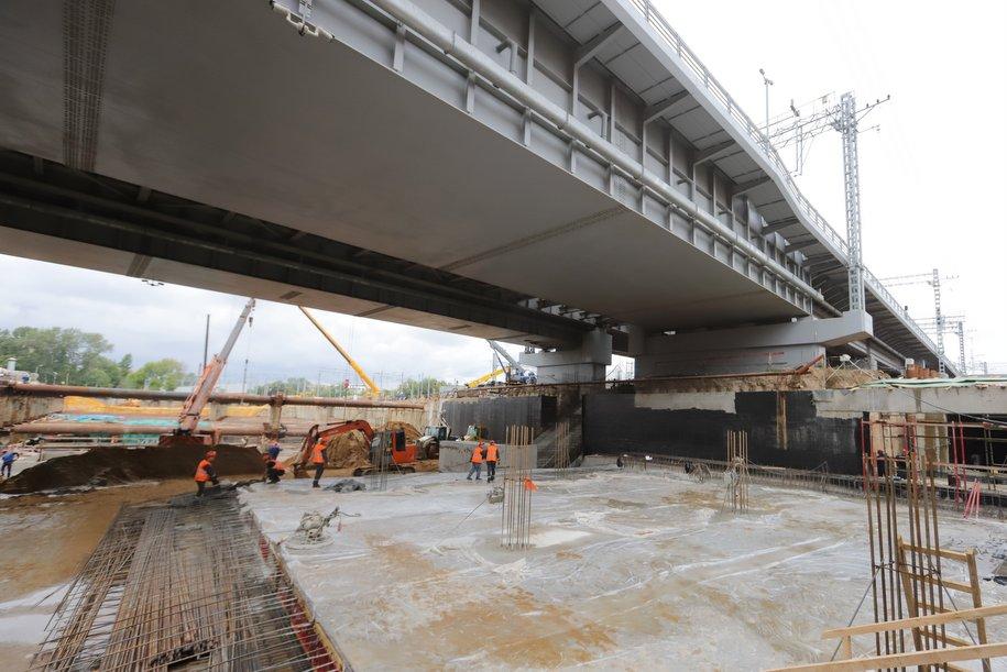 На новой вылетной магистрали на западе Москвы расположатся 23 искусственных сооружения