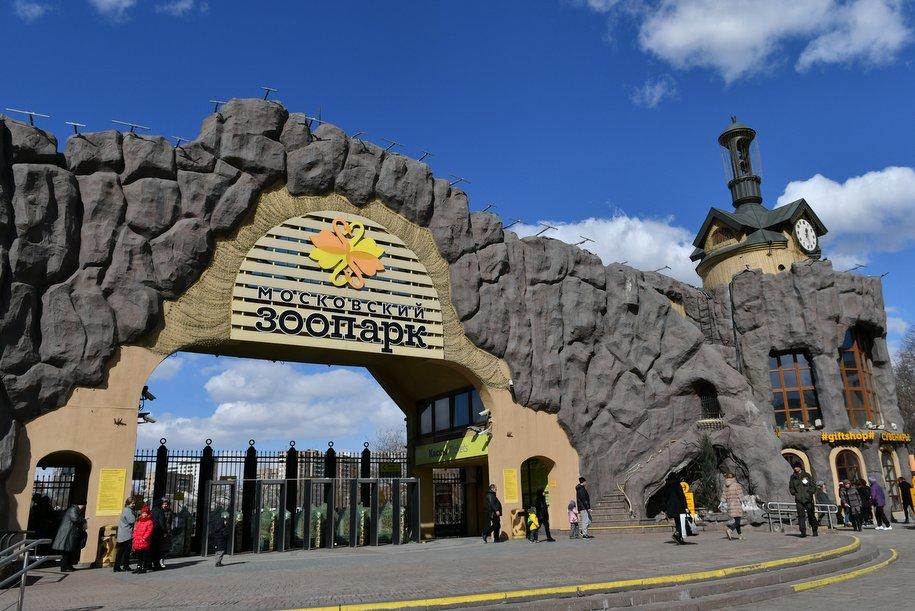 Московский зоопарк в пятницу откроется позже из-за штормового предупреждения