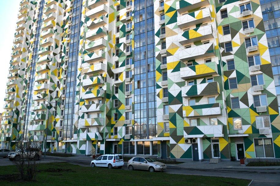 Дом с ярким фасадом построят по реновации в районе Южнопортовый