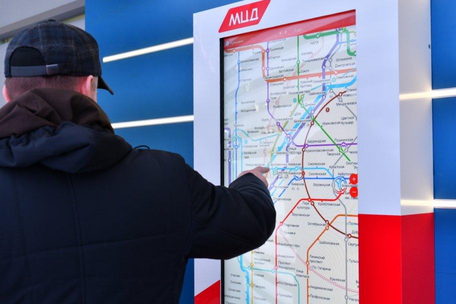 Транспортные схемы в московском метро обновят к запуску движения поездов на МЦД