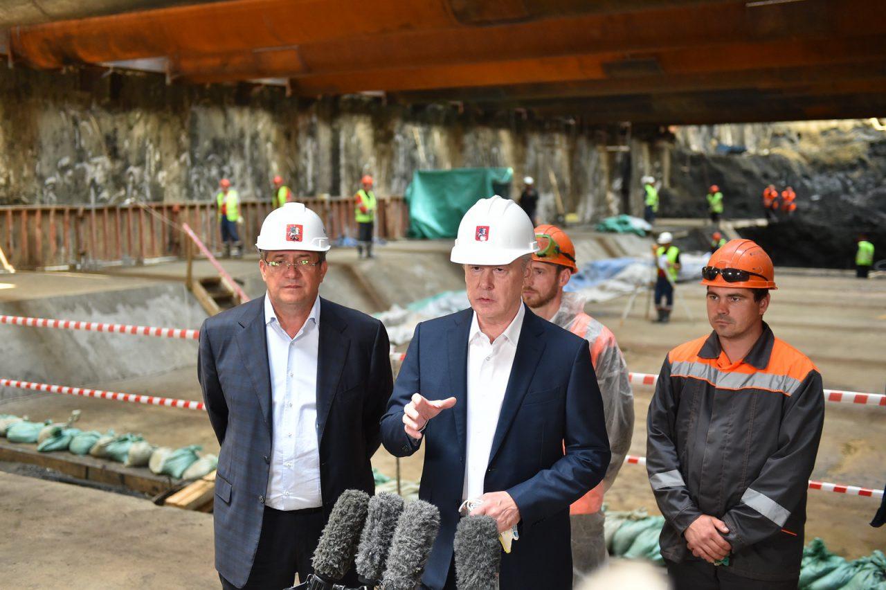Два новых тоннеля Большого кольца метро готовы одновременно