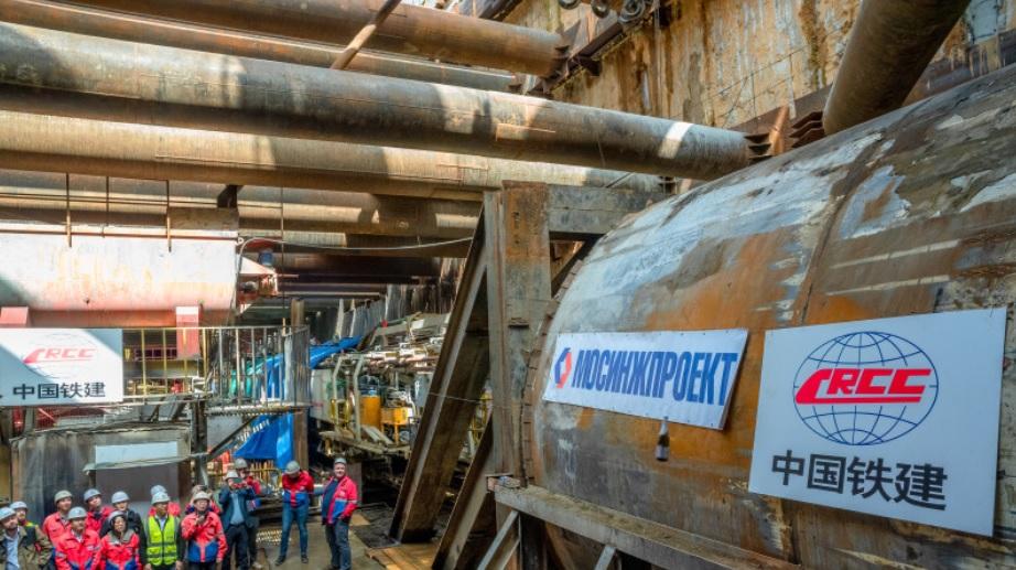 Тоннель БКЛ пройдёт под действующей станцией метро и двумя проспектами