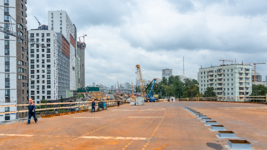 Работы по строительству Северо-Западной хорды завершат к концу года