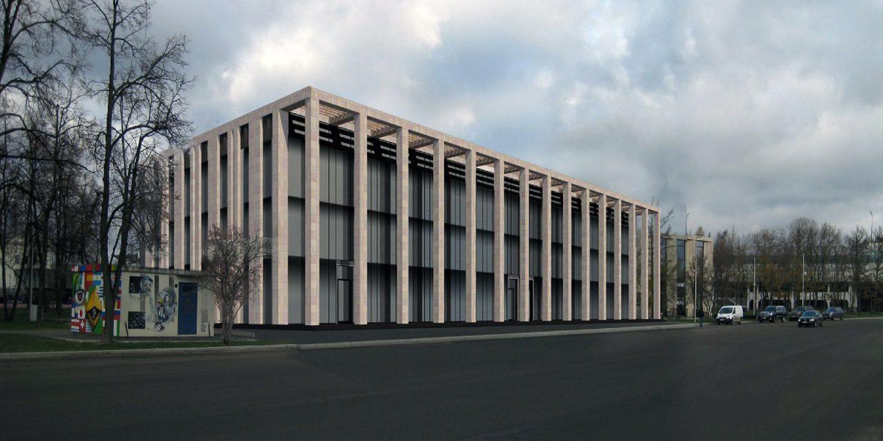 На территории спортивного комплекса «Лужники» построят трехэтажный входной павильон
