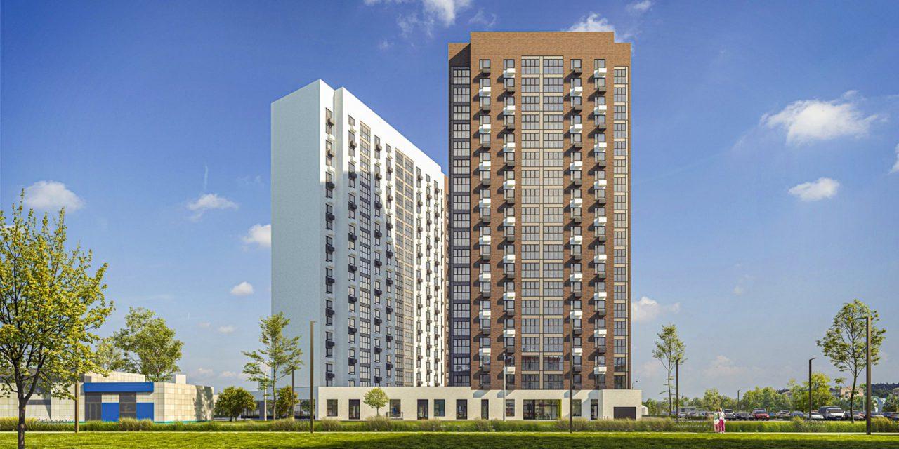 В районе Люблино началось строительство жилого дома в рамках программы реновации