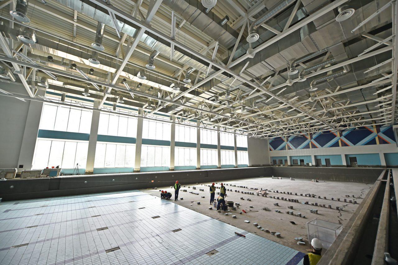 В Москве построят более 30 спортивных объектов до 2022 года
