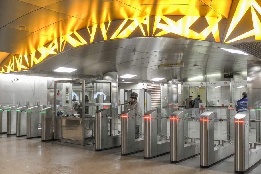 В метро произошёл сбой в работе бесконтактной оплаты на турникетах