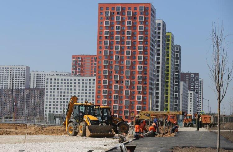 В Москве по программе реновации проектируется и строится 7,5 млн кв. метров жилья