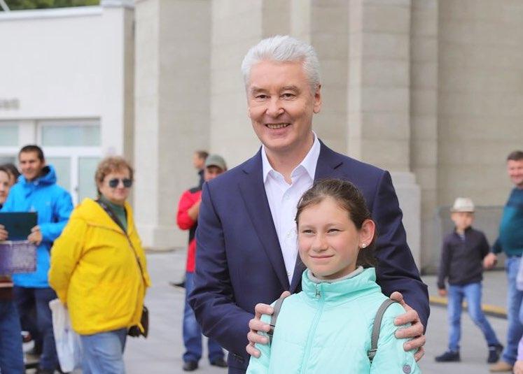 Сергей Собянин поздравил москвичей с Днём города