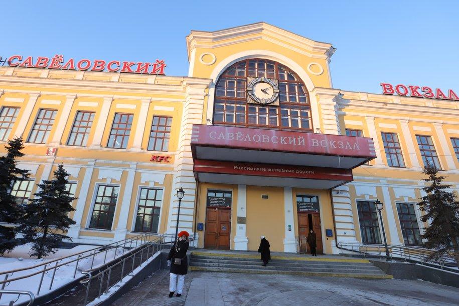 До конца года завершится благоустройство площади Савёловского вокзала
