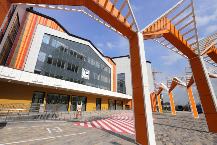 Почти 20 объектов образования ввели в эксплуатацию в Москве с начала года
