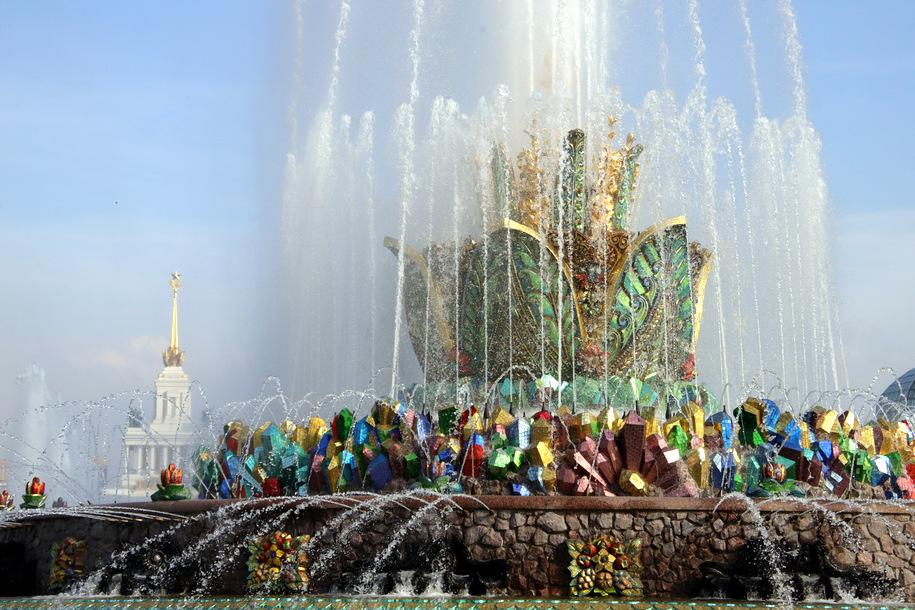 Сезон фонтанов в Москве завершится 1 октября
