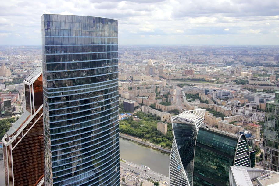 Сергей Собянин открыл новую городскую площадь у «Москва-Сити»
