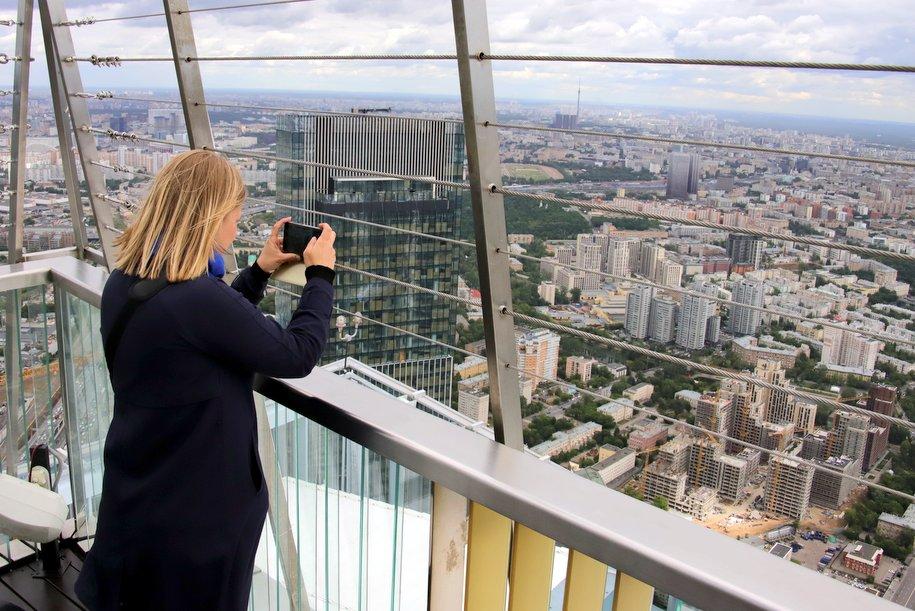 В День города в Москве установили новый мировой рекорд по хайлайну