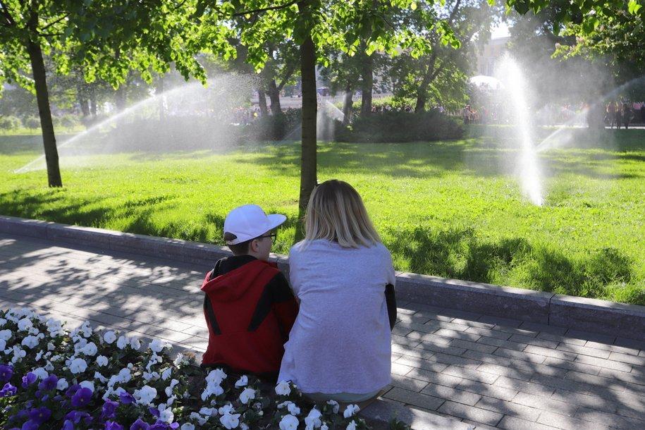 Сегодня в столице ожидается небольшой дождь и до 27 градусов тепла
