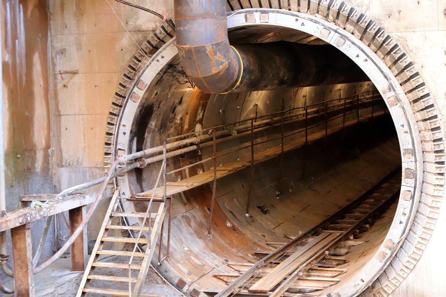Завершилась одна из самых сложных проходок тоннеля на Большом кольце метро