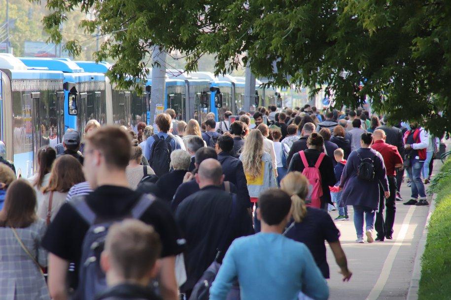 Автобусы «КМ» перевезли свыше 90 тыс. пассажиров временно закрытых станций Филевской линии за выходные