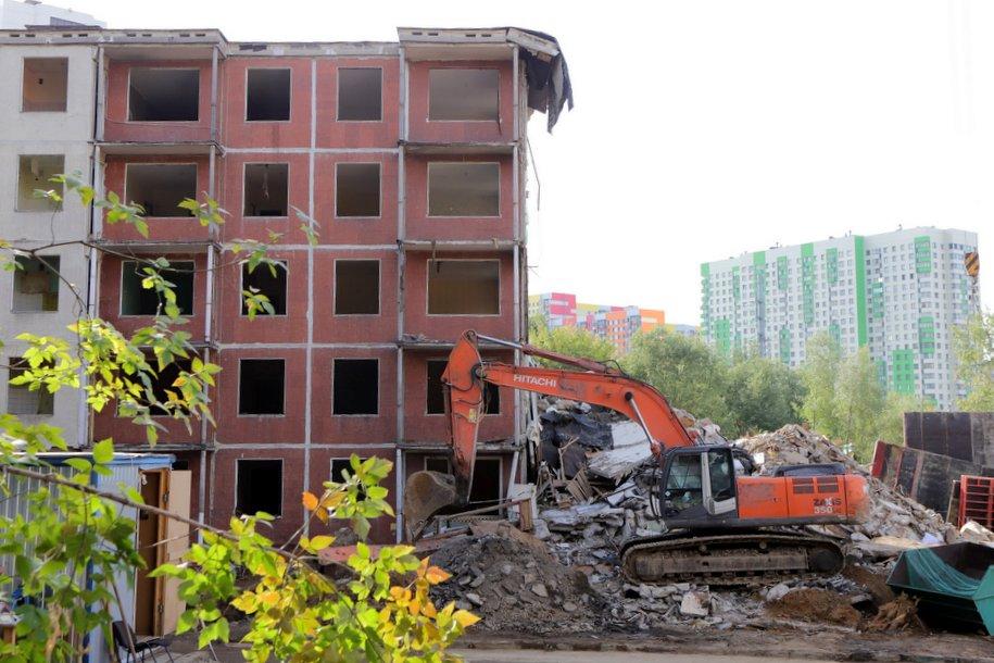 В Москве проектируются и строятся 167 домов по программе реновации