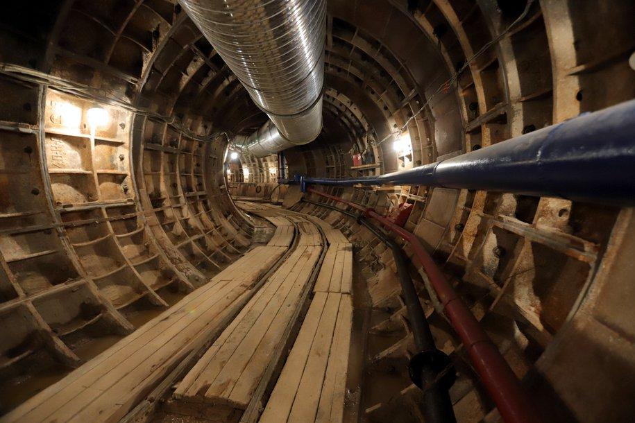Мэр Москвы дал старт проходке тоннеля на юго-западном участке Большой кольцевой линии метро