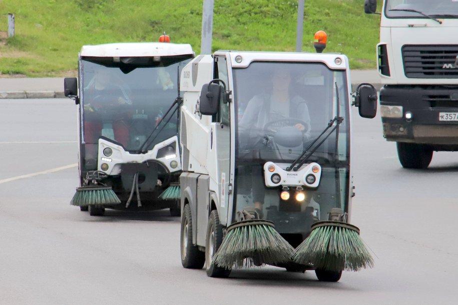 На дорогах столицы прошла генеральная уборка
