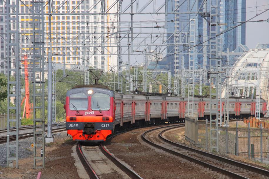 На Курском направлении произошел сбой в движении поездов