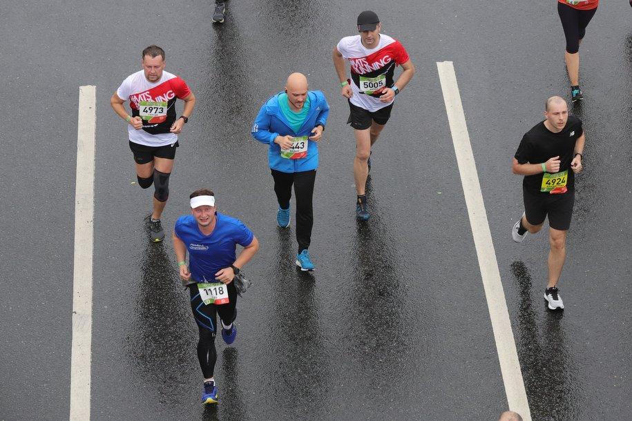 На финише Московского марафона будут дежурить медики