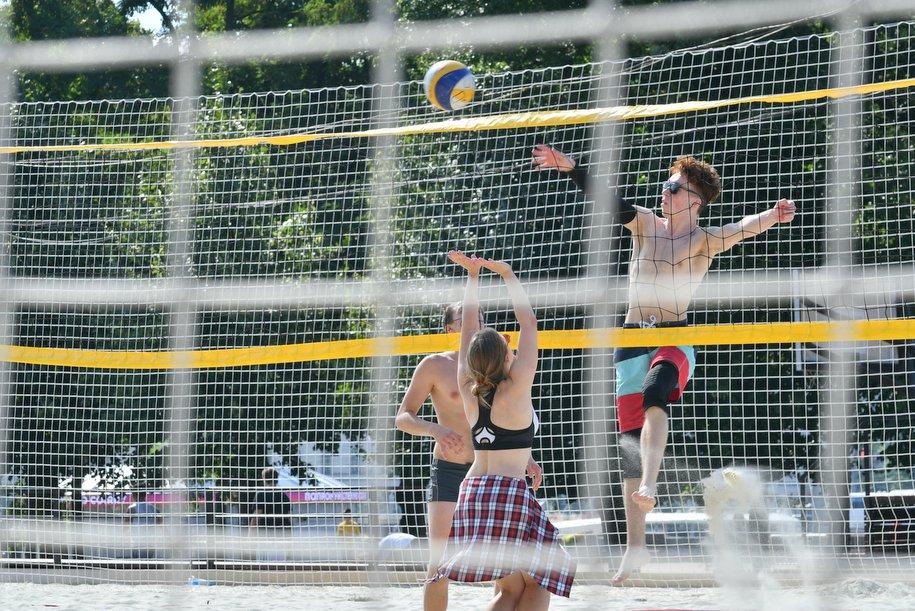 Парк «Дубки» оснастят волейбольными площадками