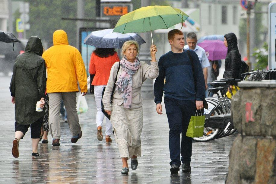 Сегодня в столице ожидается облачная и дождливая погода