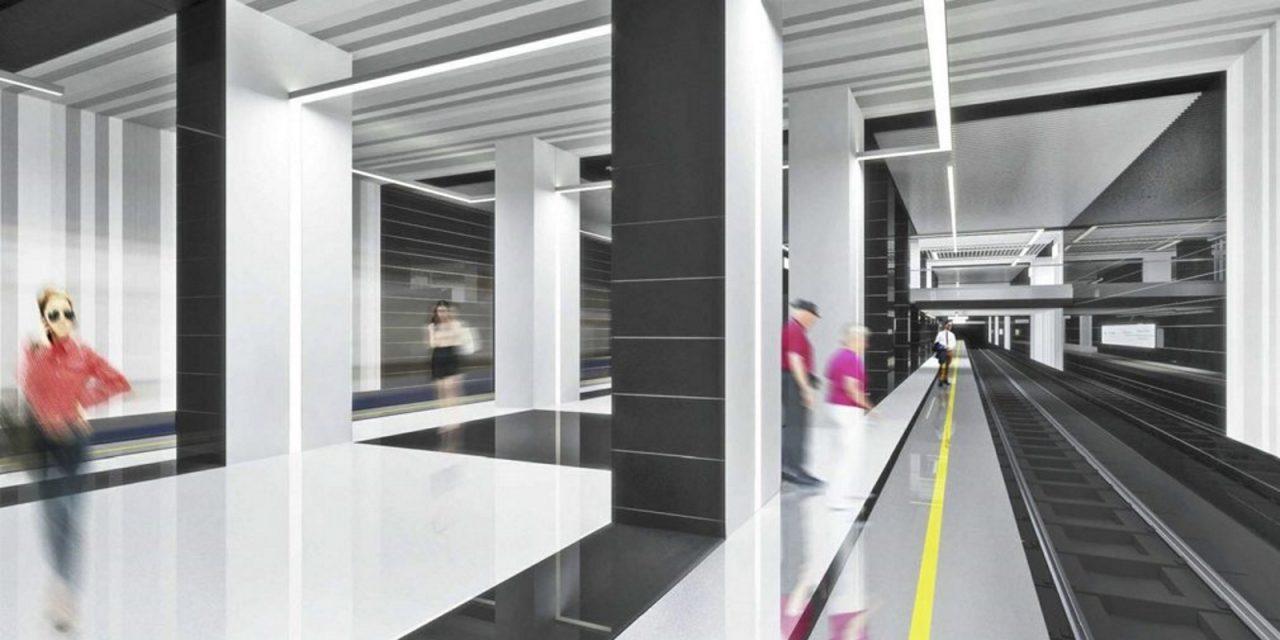 На станции «Лефортово» БКЛ метро проводятся отделочные работы