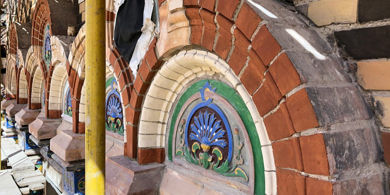 На Большой Никитской завершается реставрация здания посольства Бразилии