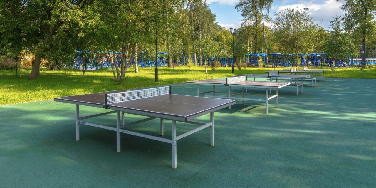 С начала этого года в парках и зеленых зонах столицы появилась 161 спортивная площадка