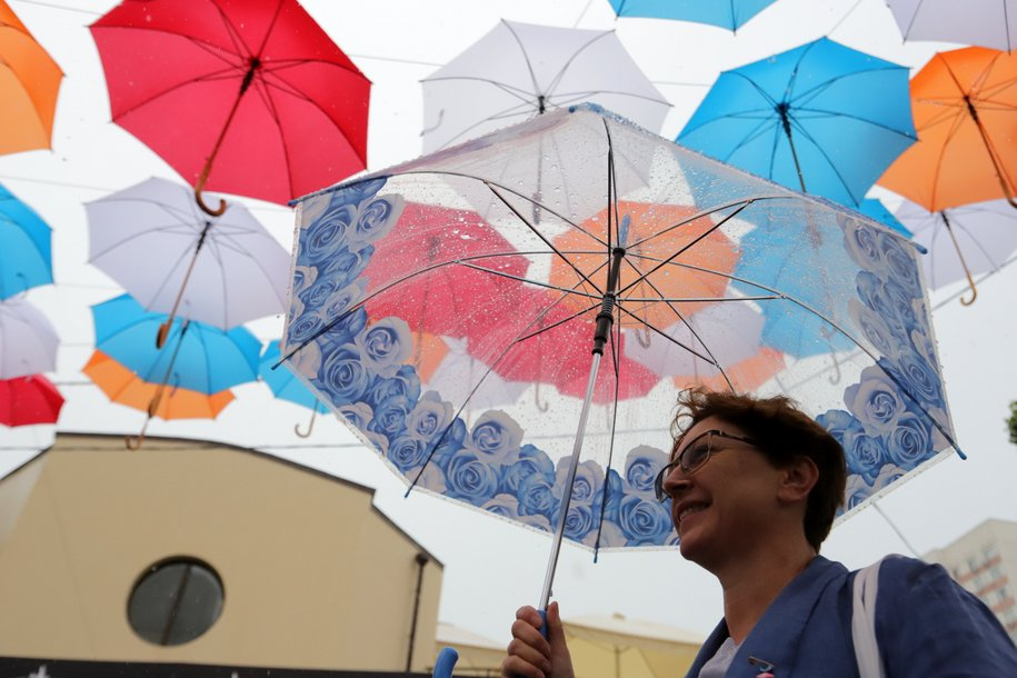 Сегодня в Москве ожидается переменная облачность и дождь
