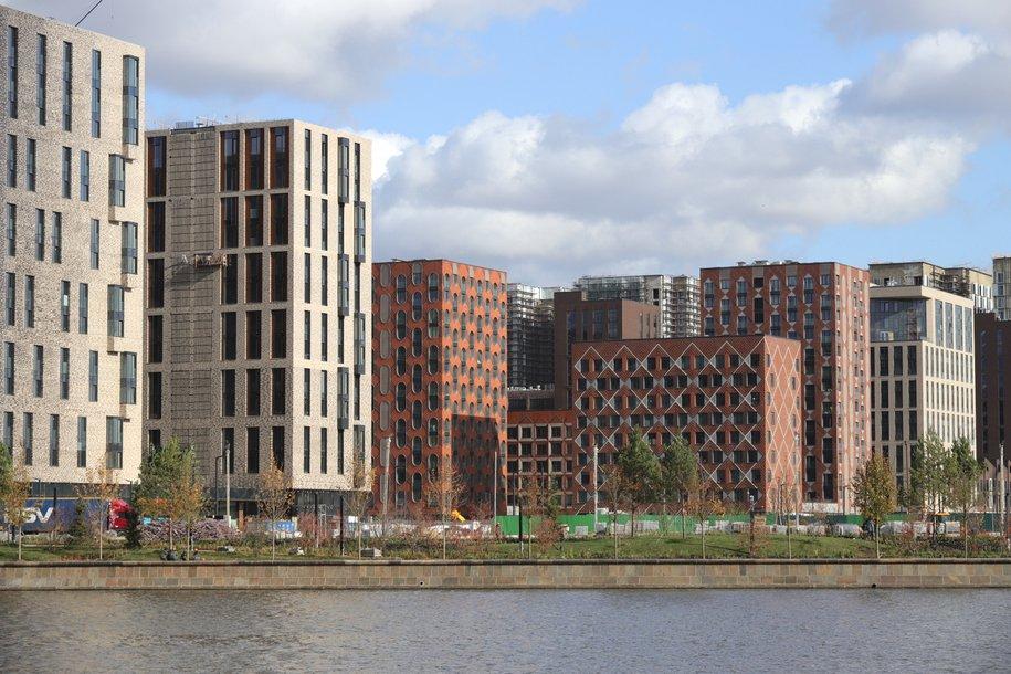 В Москве строится 130 домов по программе реновации