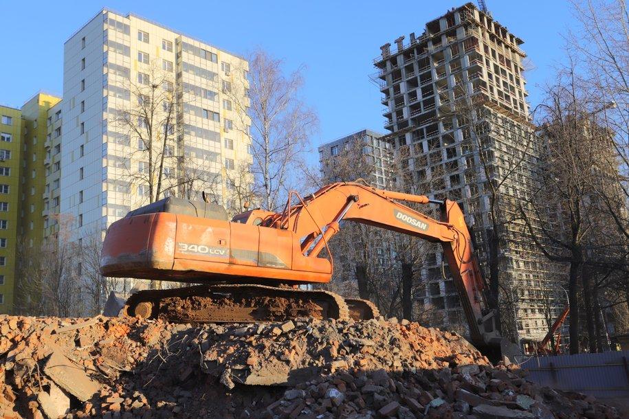 С начала года в Москве избавились от 41 долгостроя