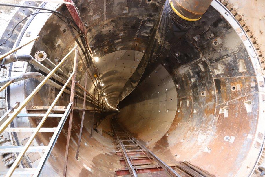 На строительстве тоннелей БКЛ работают 14 проходческих комплексов