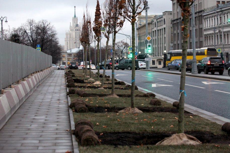 Более трех гектаров территории благоустроили на улице Рождественка и вокруг нее