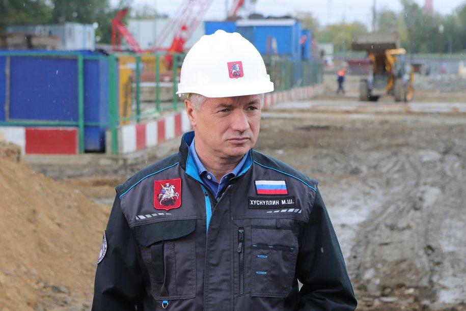 Завершен монтаж конструкций Карамышевского моста