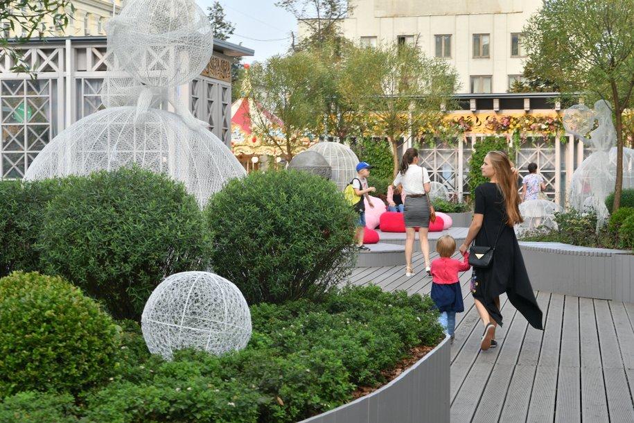 Демонтаж садов конкурса «Цветочный джем» пройдет на улицах Москвы с 15 октября по 10 ноября