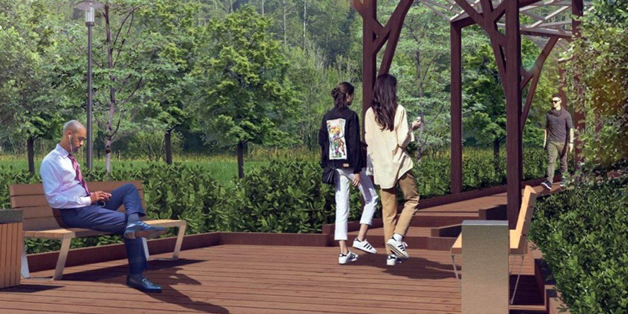 Парк и спортивный кластер появятся на территории Мневниковской поймы