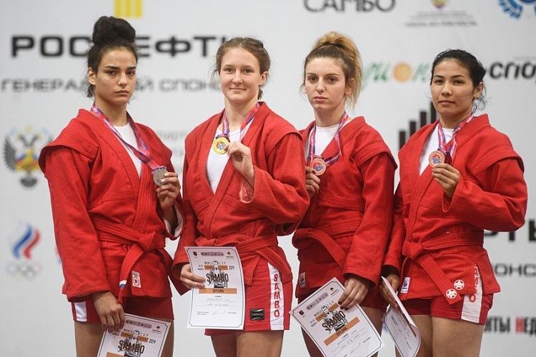 Московские самбисты завоевали очередные медали в Сеуле