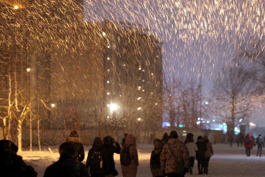 К четвергу в столице пойдет ледяной дождь