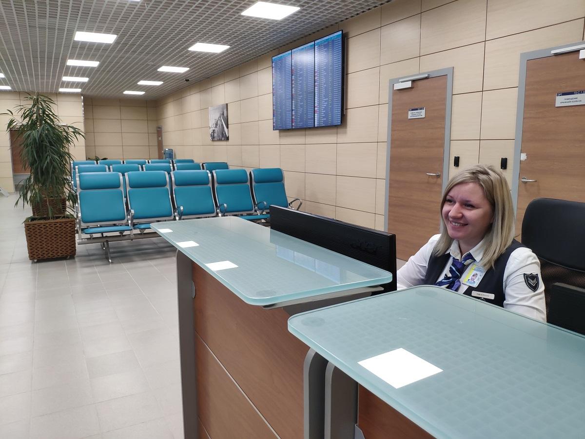 В аэропорту Домодедово открыли новый зал для пассажиров с ограниченной подвижностью