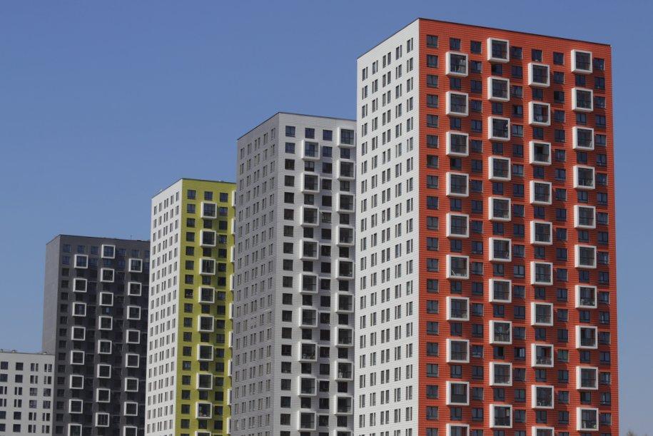 Западный округ лидирует по количеству сданого жилья по реновации