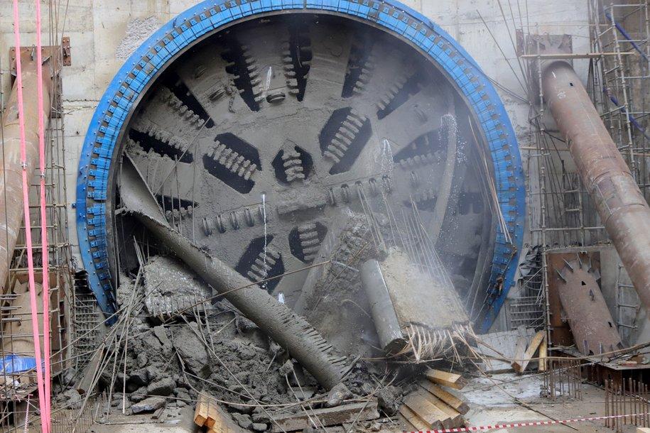 Для строительства тоннелей восточного участка БКЛ применят ТПМК диаметром 6 и 10 метров