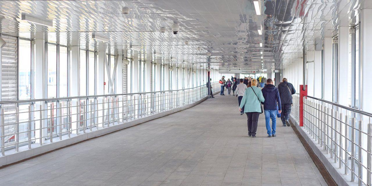 В Коптево завершается строительство перехода через пути МЦК