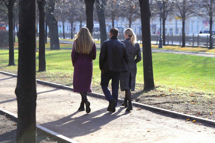 """""""Жёлтый"""" уровень погодной опасности продлён в Москве до среды"""