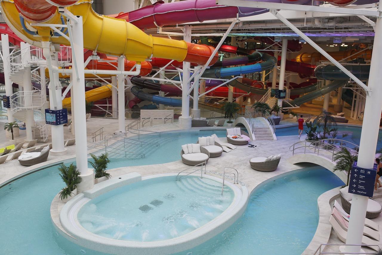 В Лужниках открылся дворец водных видов спорта