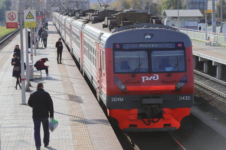 Благоустройство станции «Кунцево» завершено на 80%