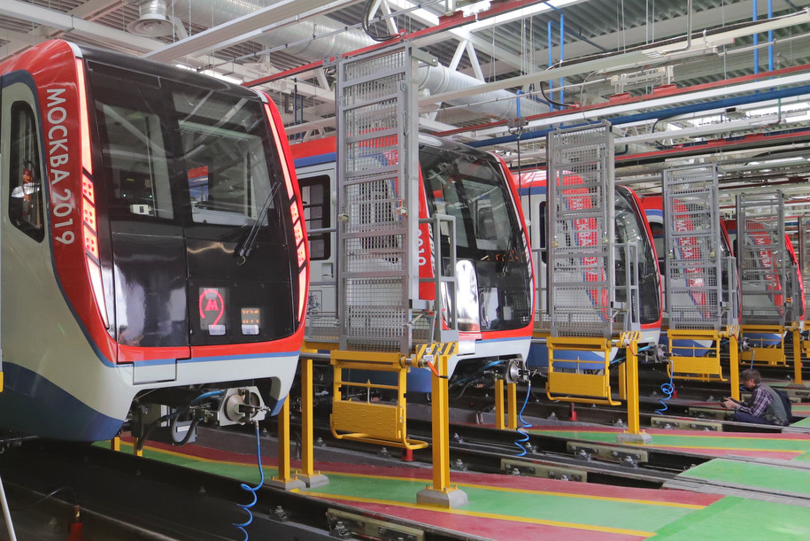 Еще четыре электродепо метрополитена построят до 2023 года