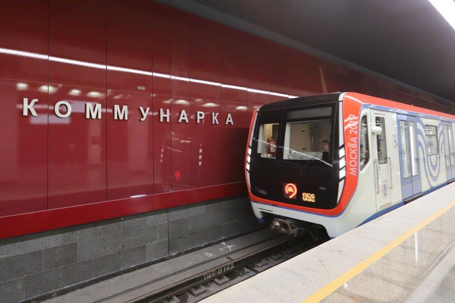 Москвичи голосуют за Коммунарскую линию метро на портале «Активный гражданин»